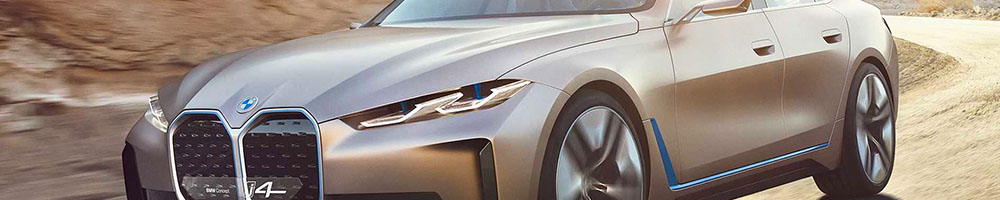 Electric charging stations for BMW i4