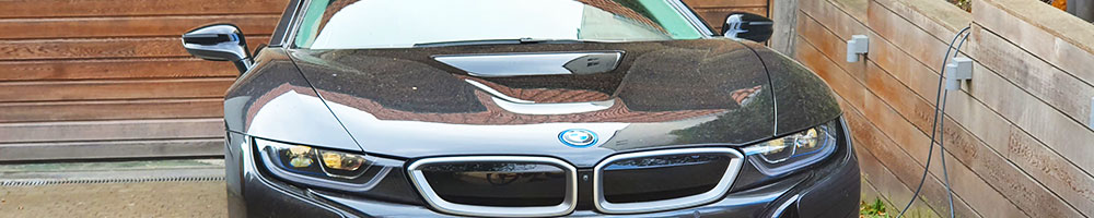 Electric charging stations for BMW i8