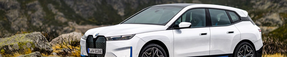 Electric charging stations for BMW iX