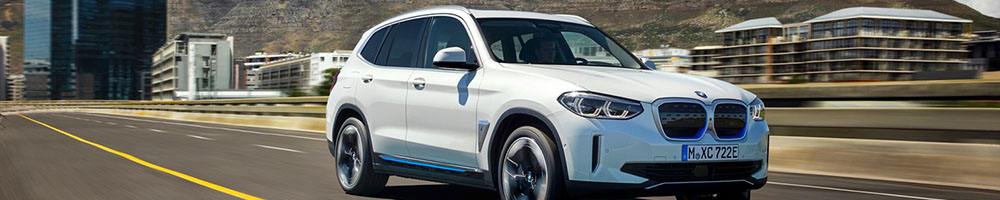 Electric charging stations for BMW iX3