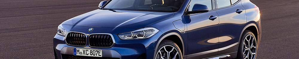 Electric charging stations for BMW X2 xDRIVE25e Plug-in Hybrid