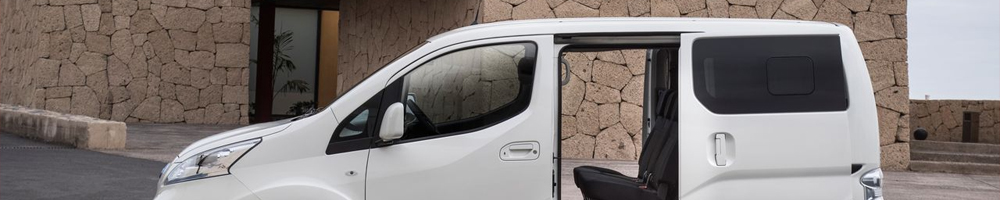 Electric charging stations for Nissan e-NV200 Evalia
