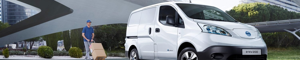 Electric charging stations for Nissan e-NV200